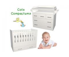 Cot Large and 5 Drawer Compactum Both for R5760.00