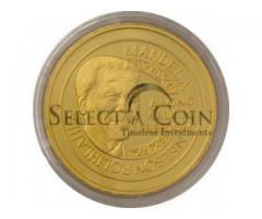2010 Mandela Robben Island 5 oz Mint Mark Medallion