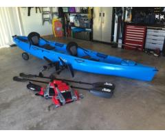New: Hobie Mirage Oasis 2x Person Kayak