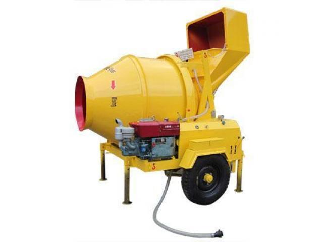 Diesel concrete cement mixers machines for sale for Cement mixer motor for sale
