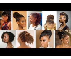 Dreadlocks, Bonding, Styling, Plaiting, Nails, Haircuts