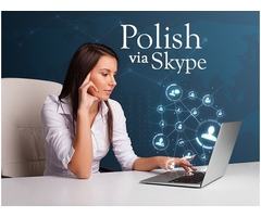 Polish via Skype. Native Polish-speaking teacher. All levels (B1 - C2).