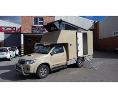 Toyota Hilux Legend 45 with exclusive fitted camper for sale