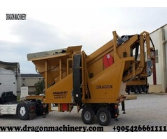 Machine for stone production line iron ore mobile crusher factory
