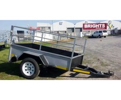 New unused trailers for sale, various sizes.