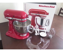 KitchenAid Artisan KSM150 Stand Mixer Empire Red - USED ONCE
