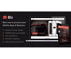 Here you Go...! For amazing Simple & Clean HTML5 Business Landing Page