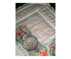 Quilts for baby beds and camping cots