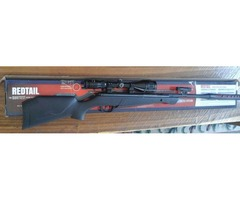 Air Rifle with upgraded scope (4-12x50 AO) and laser sight for sale