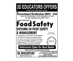 3D Educators Offers Food Safety