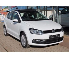 2016 Polo Vw White Hatchback
