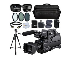 PRICE DROPPED ON SONY HXR-MC1500 HD CAMCORDER PAL BUNDLE PACKAGE