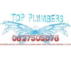 Moreleta Park Plumbers 0827505078, Blocked drains Erasmuskloof, Burst pipes Constantia Park