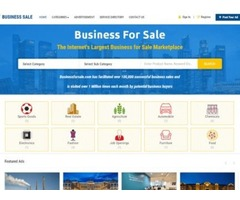 Websites & Business for Sale script - Buy and Sell marketplace script (phpscriptsmall)