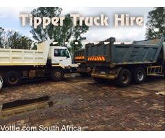 Tipper trucks for hire Pretoria west 0791199923