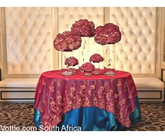 From Decor to Stretch Tents to Linen to Couches To Tables!!! We have everything you Require