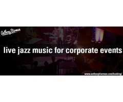 Live jazz music for corporate events