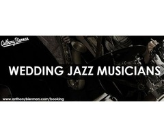 Wedding jazz musicians
