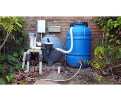 Re-use your pool backwash water