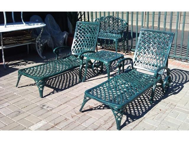 Affordable quality outdoor cast aluminium garden patio for Quality garden furniture