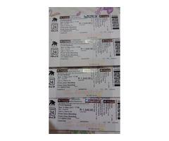 Justin Bieber tickets!