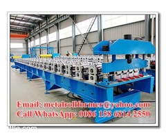 Prepainted Aluzinc Steel & Aluminium IT4 Roof Panel Manufacturing Machine