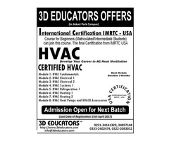3D Educators Offers HVAC