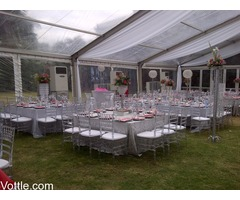Star Hire Durban - Clear Aluminium Frame Tent For Hire