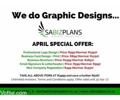 We do Graphic Design...