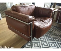 LC3 grand chair and two seater Couch