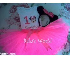 Character Themed Tutu Sets for Birthday Parties