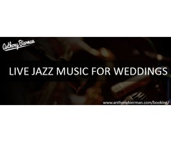 Live jazz music for weddings