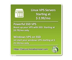 Cheap VPS Hosting  512MB/50GB/2TB offer starting at $ 2.99/mo.