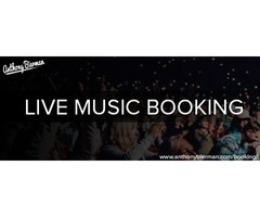 Live music booking