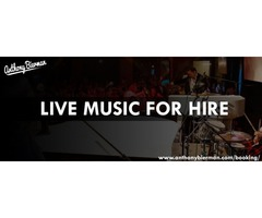 Live music for hire