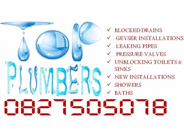 Montana Plumbers 0827505078, Doornpoort, Sinoville, Annlin, Magalieskruin, Theresa park