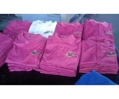T-shirts Supply, Print from R80 Each, Hoodies from R180 Websites with Free Domains Hosting