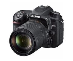Nikon D7500 +18-140mm Camera