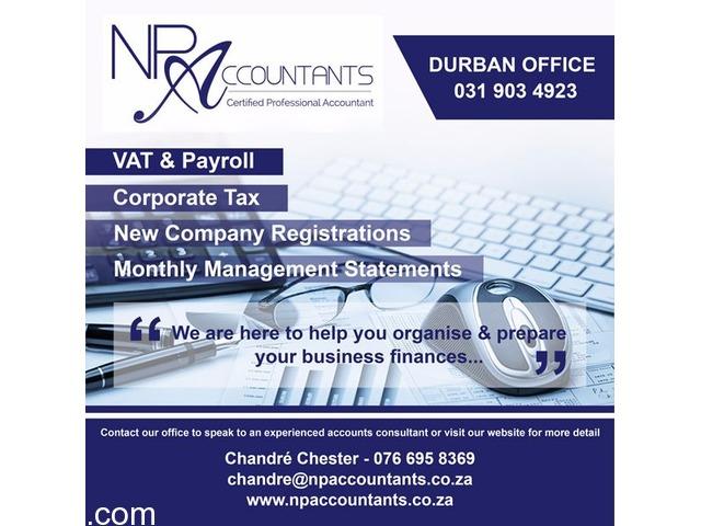 NP Accountants Durban Branch Now Open